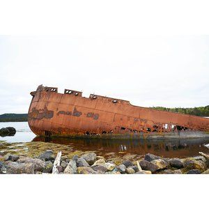 Rusting In The Bay 8x10 Print Limited Edition